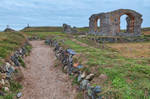 St Dwynwens Church Ruins by boldfrontiers
