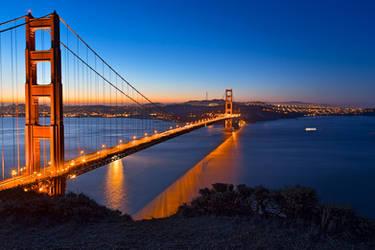 Golden Gate Dawn Bridge III