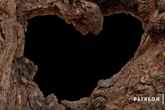 Wood Heart Frame (Exclusive Patreon Precut)