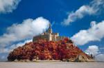 Autumn Shades of Mont Saint-Michel II