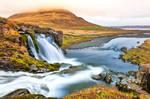 Drifting Colors of Kirkjufellsfoss