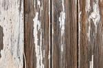 Peeling Wood Paint Panels