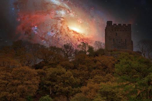 Castle Tower Galaxy
