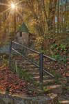 Spring Castle Autumn Sunburst (freebie)
