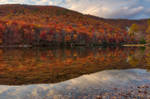 Autumn Serenity of Sherando Lake