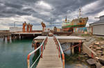 Akranes Shipyard by boldfrontiers