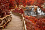 Winding Blackwater Falls - Autumn Fantasy