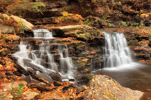 Autumn Cayuga Falls