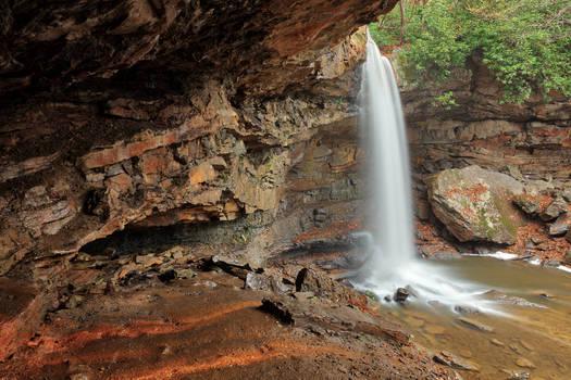 Cucumber Cave Falls