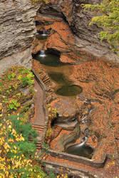 Autumn Gorge Overlook - Watkins Glen