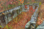 Autumn Ruins of Kunes Camp by boldfrontiers