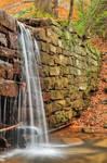 Autumn Dam Waterfall - Cook Forest