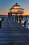 Choptank Dawn Lighthouse by boldfrontiers
