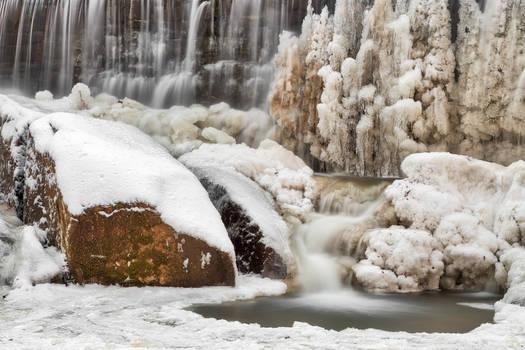 Rock Run Winter Cascades