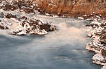 Rugged Winter River - Great Falls