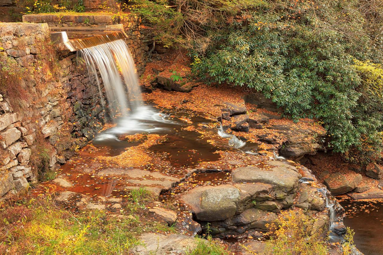 Autumn Saylorsville Dam