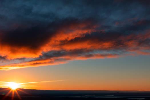 Acadia Sunset Sky