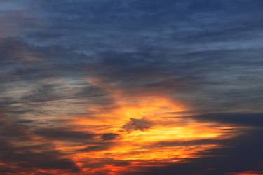 Sunset Ember Clouds