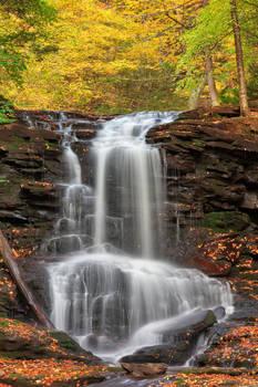Autumn Tuscarora Falls