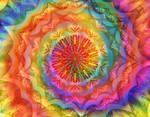 Colored spiral.