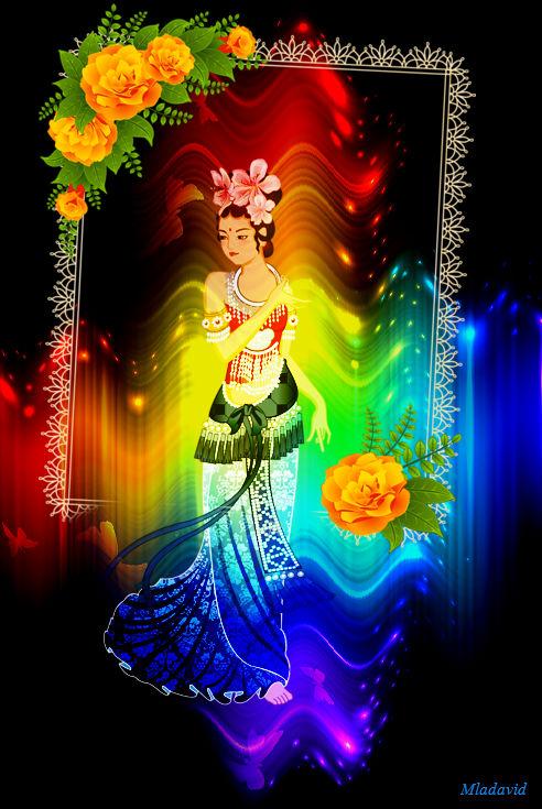 Oriental Beauty. by Mladavid