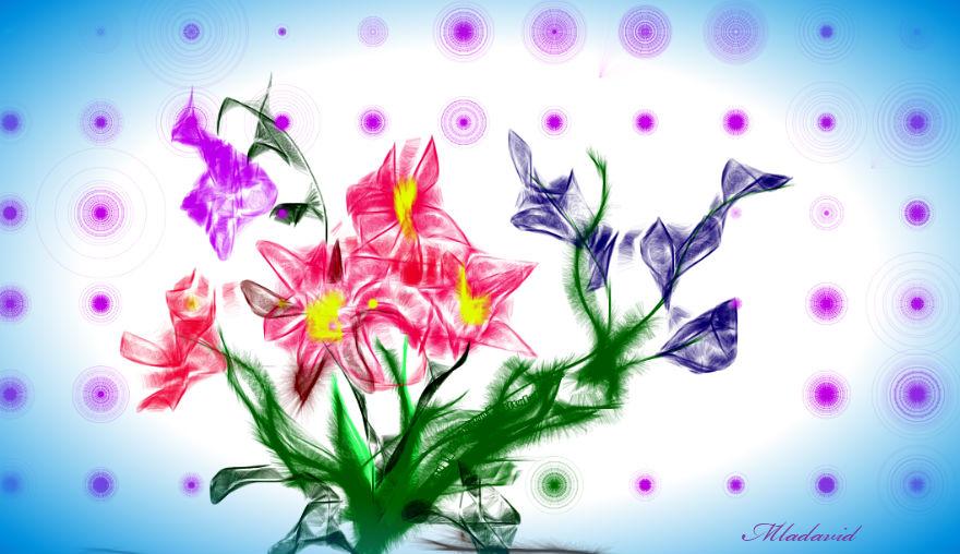 Bunch of random flowers by Mladavid
