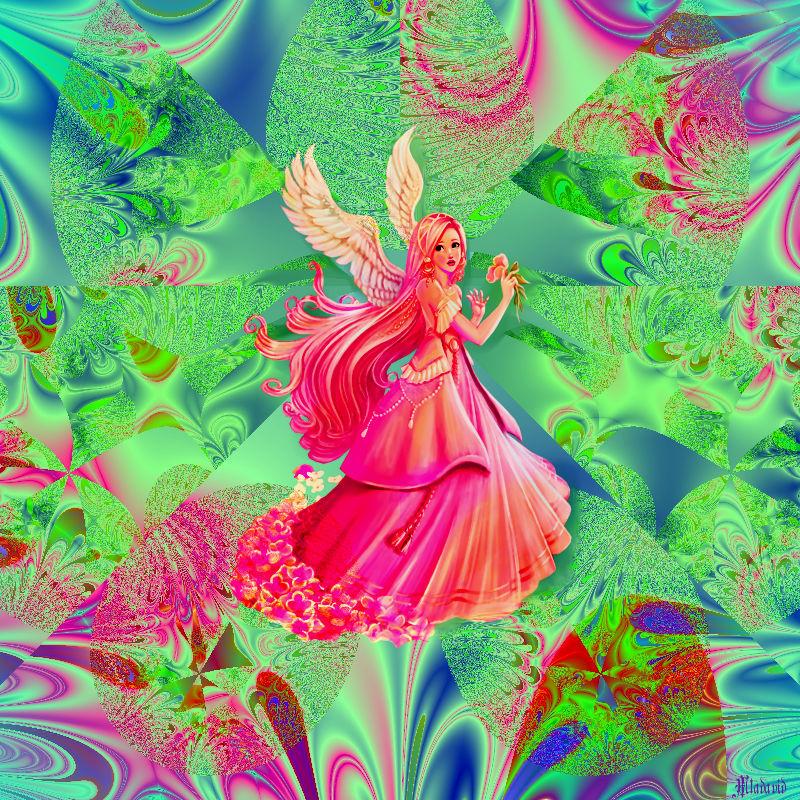 Little Spring Fairy by Mladavid