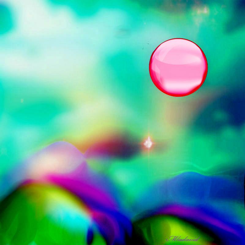 Planet glass sun by Mladavid