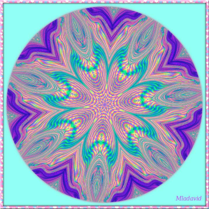 Mandala of inner contemplation by Mladavid