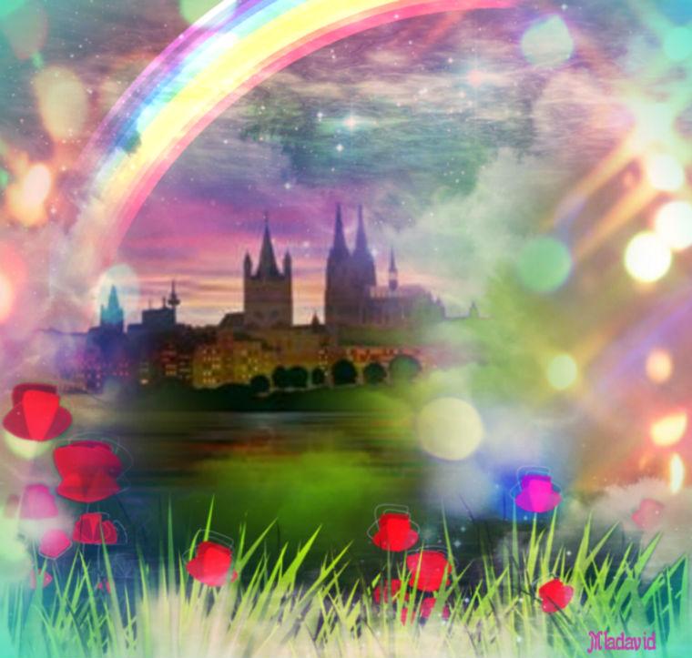 Fairy-tale castle by Mladavid