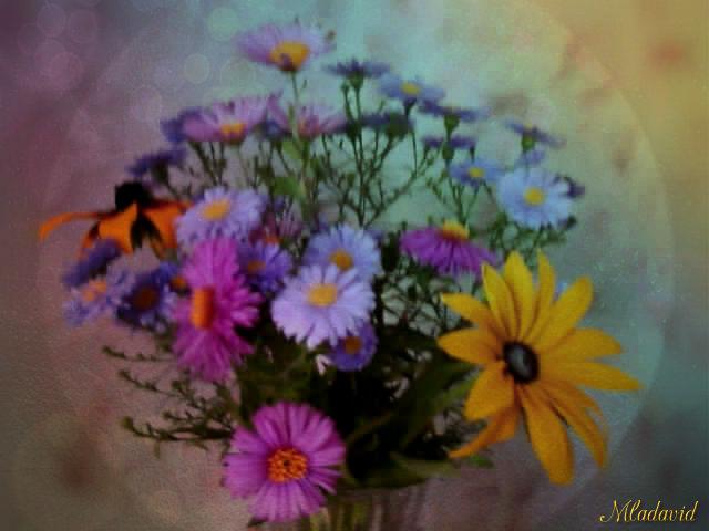 Autumn Bouquet by Mladavid