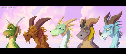 Leaders of Dragon Kingdom by Ityrane
