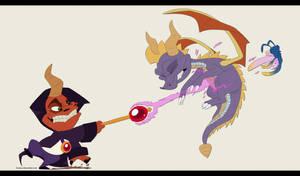 Ripto VS Spyro