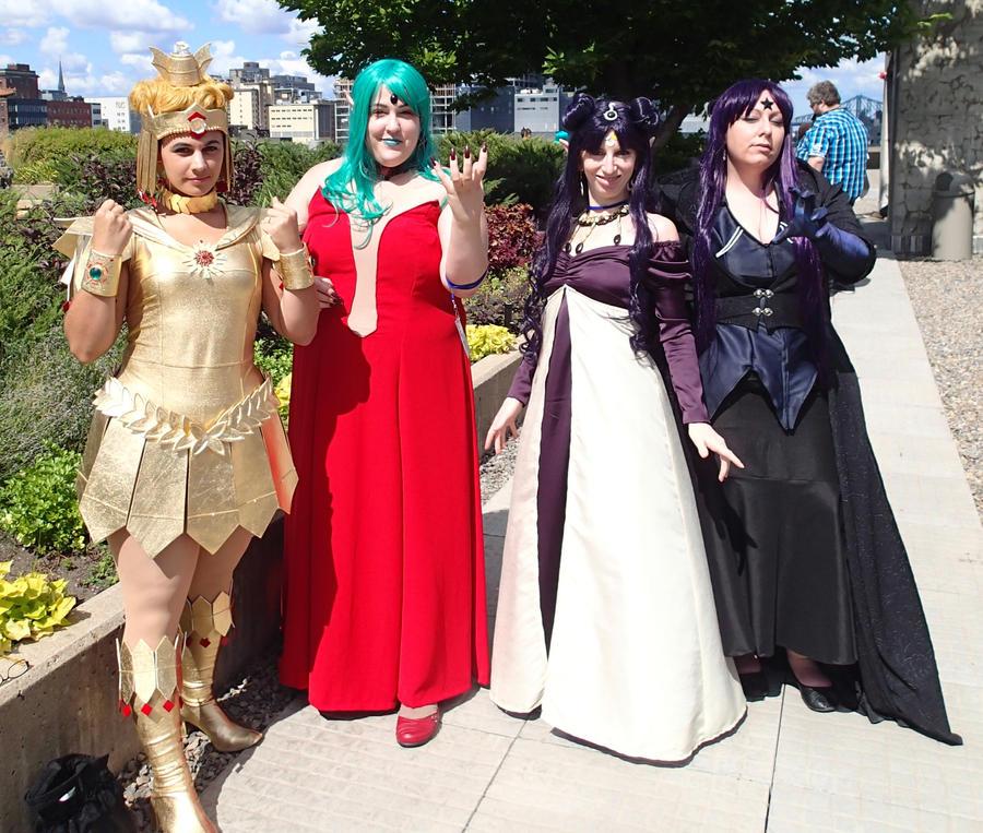 Sailor Moon Villains By Elandhyr On DeviantArt