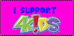 I support 4Kids Stamp by ZareoxTheHedgehog