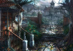 Murder Mystery House by IndianRose