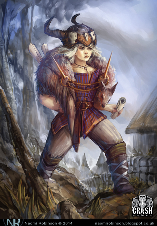 Viking Female Character1 by IndianRose