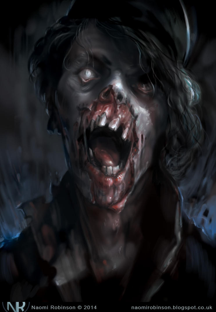 Zombie Halloween 2014 11 by IndianRose