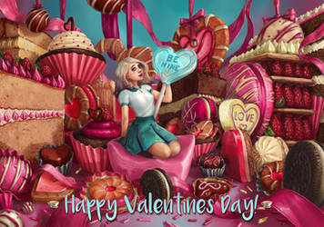 Happy Valentine's Day by IndianRose