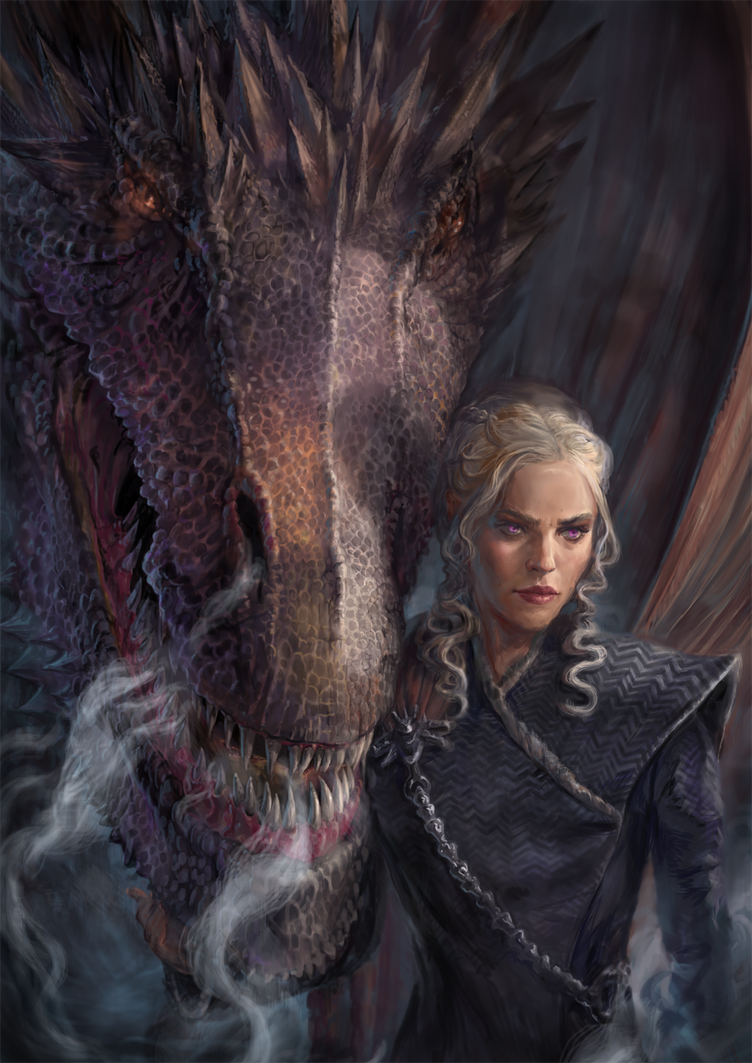 Mother of Dragons by IndianRose