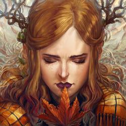 Leaf Girl