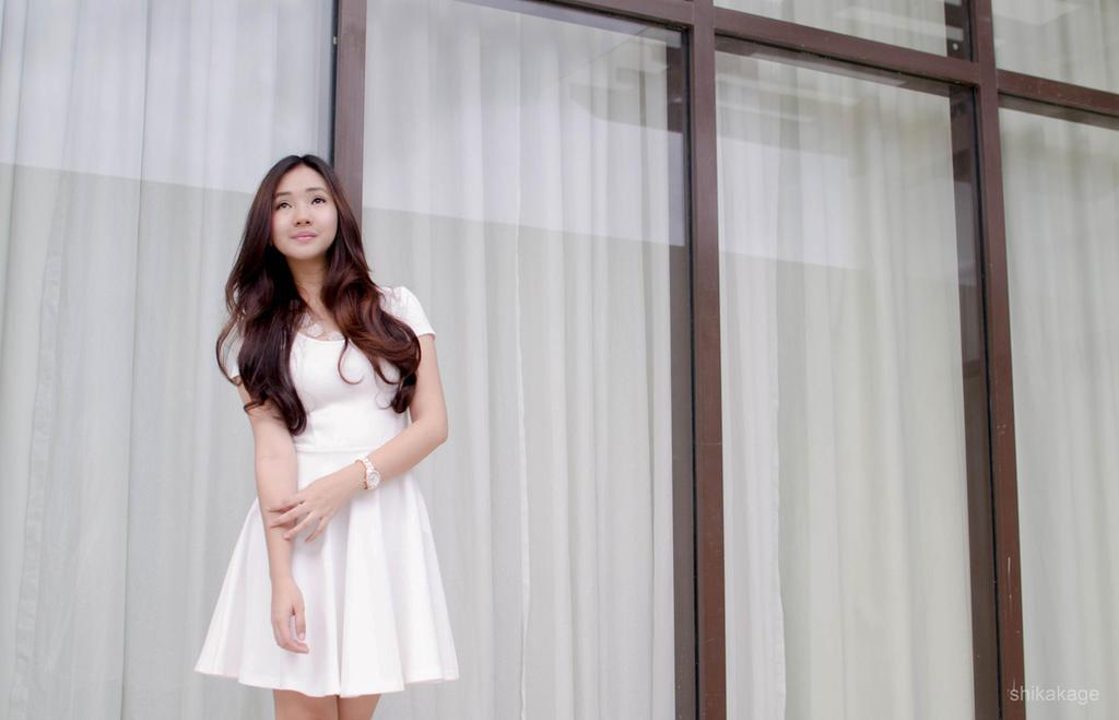 Little White Dress by Ranjue