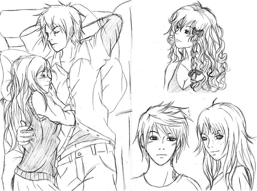 Easy Drawings Of People In Love Traffic Club