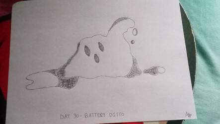 Day 30 - Battery Ditto