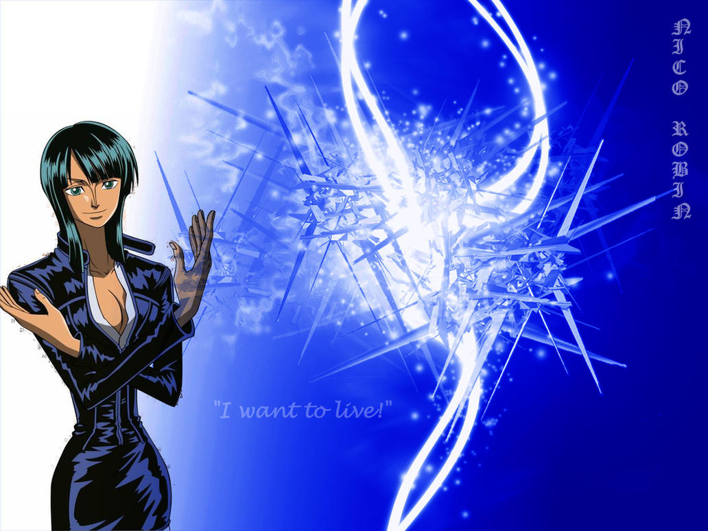 Nico Robin Wallpaper by ~Reemee on deviantART