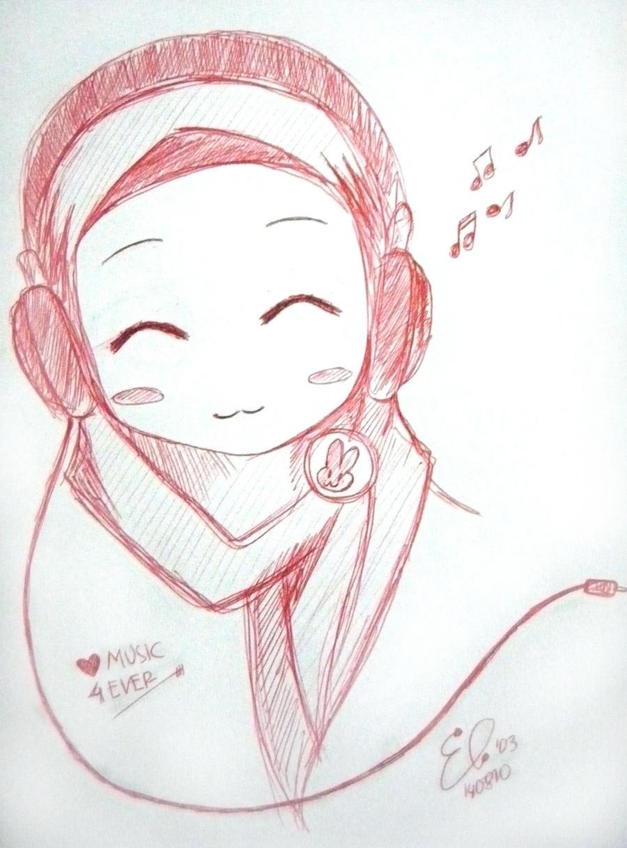 love music girl by elio-chan on DeviantArt