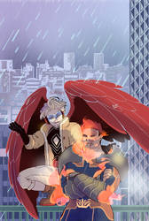 Rainy Day on Patrol by soltian