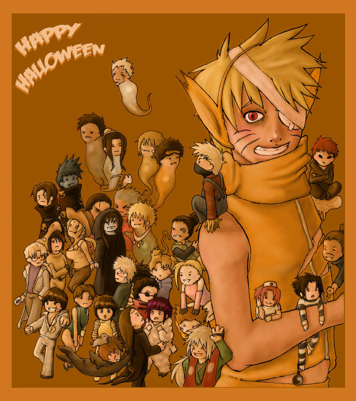 ��� ���� ���� �� ��� �������� (��� �������) ����� � ���� Naruto_Halloween_by_