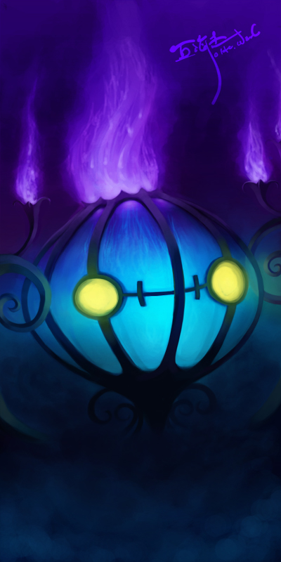 chandelure by luminoire
