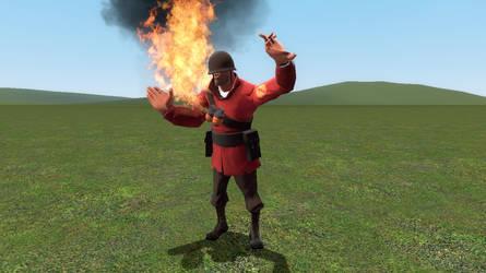 gmod - Fire Soldier
